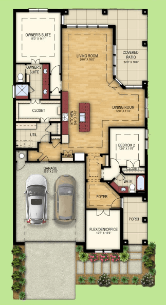 Verona New Home Floor Plan
